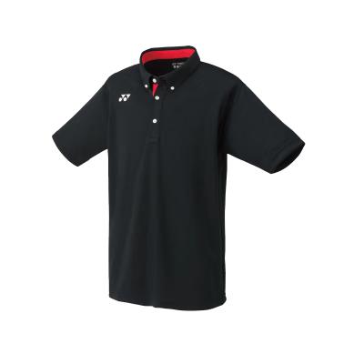 YONEX尤尼克斯羽毛球服10246EX 男款短袖翻領T恤 大賽系列運動T恤