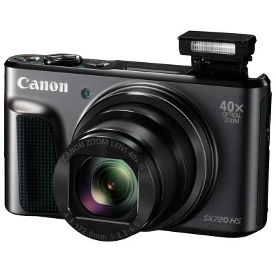 佳能(Canon) PowerShot SX720 HS 黑色 數碼相機 約2030萬像素 3英寸屏