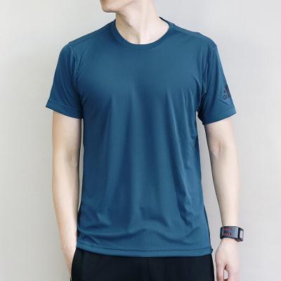 阿迪達斯(adidas)半袖男子運動冰風快干透氣短袖T恤衫CE0819/CE0818