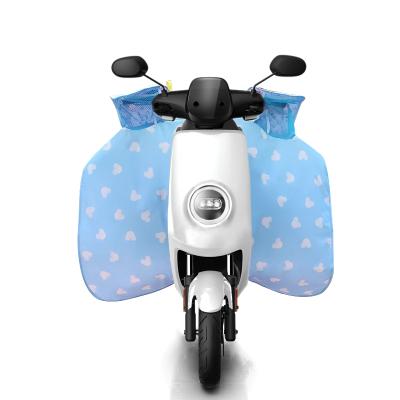 奧本 春夏季防走光防雨水防曬電動車分體連體擋風被雙面防水手套遮陽罩電瓶車摩托車防風罩