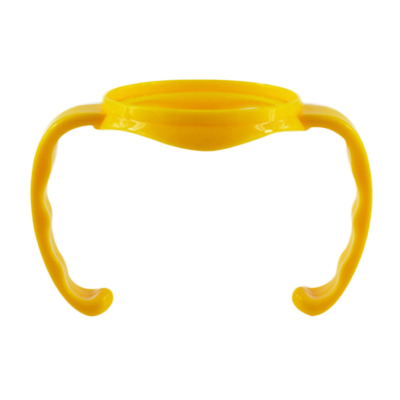 適合配適貝親(PIGEON)寬口徑奶瓶使用手柄黃色單個把手pp 奶瓶配件PJZP01