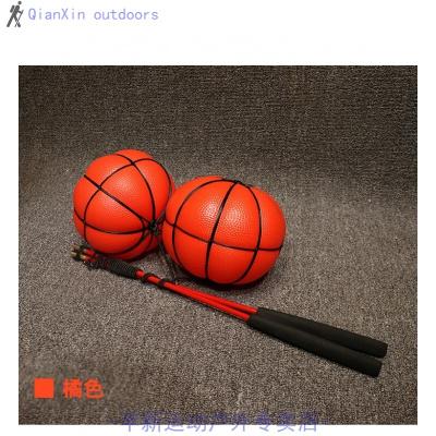 因樂思(YINLESI)中老年人健身球甩甩球跳跳球兒童玩具球彈力球手摔摔球手柄帶線球