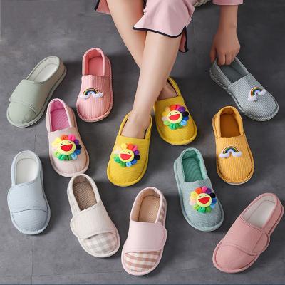 月子鞋女夏季產婦產后春秋夏天包跟防滑軟底拖鞋智扣透氣孕婦鞋夏薄款
