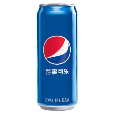 百事可樂 可樂型汽水(細長罐)330ml*24罐碳酸飲料