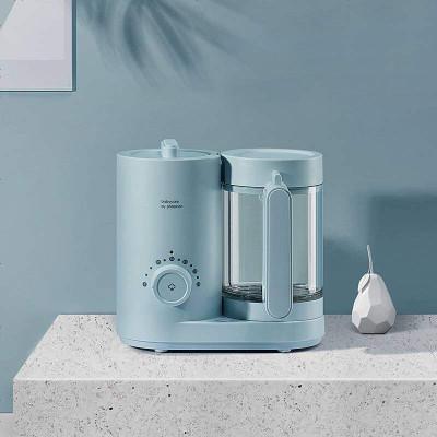 babycare輔食機 嬰兒多功能輔食機蒸煮一體機研磨器小型寶寶輔食工具料理機 靜謐藍