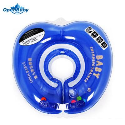 欧培(OPEN BABY)婴儿游泳圈 儿童游泳救生圈 幼儿脖圈 蓝色脖圈L码