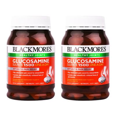 BLACKMORES 澳佳寶 維骨力葡萄糖胺氨基酸 1500毫克 180片*2瓶 澳洲進口 膳食營養補充