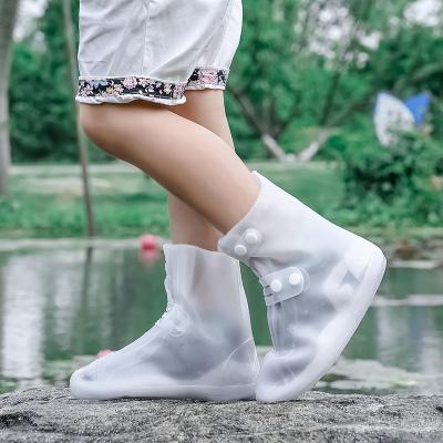 防水套鞋雨鞋套儿童女士户外防滑加厚耐磨轻便时尚雨靴套男夏季