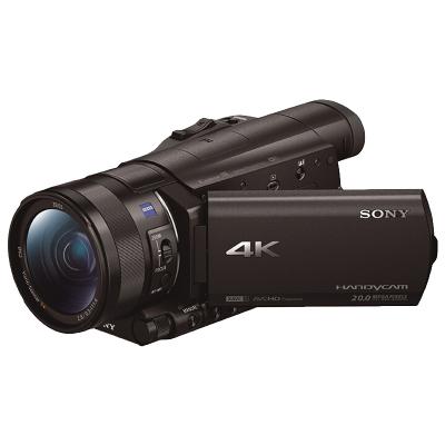 索尼(SONY) FDR-AX100E 4K数码摄像机 约1420万像素 3.5英寸屏