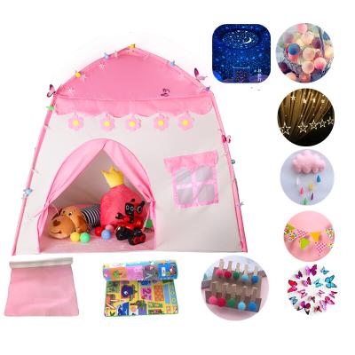 因樂思(YINLESI)兒童帳篷室內公主女孩7一12歲 兒童帳篷游戲屋室內男女孩公主城堡仿真小房子玩具幼兒園生日