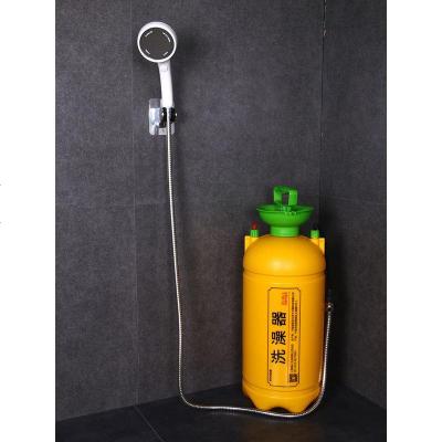 希而希宿舍洗澡神器淋浴器戶外農村家用租房大學生寢室簡易便攜式沖澡桶