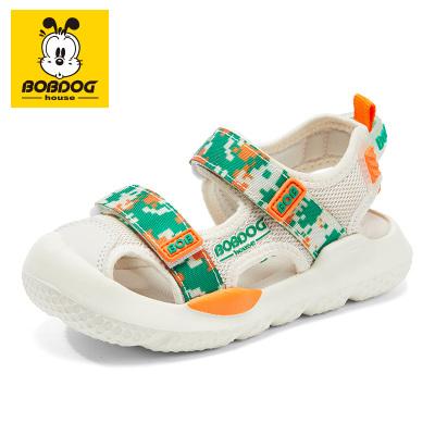 BOBDOG HOUSE巴布豆童鞋兒童涼鞋夏季男童女童中大童軟底沙灘鞋B8664