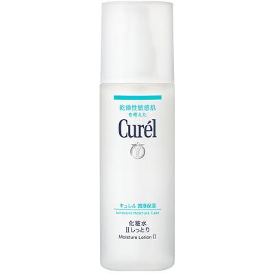 Curel珂潤 潤浸保濕補水化妝水Ⅱ水潤型150ml 保濕補水 中性及油性膚質通用