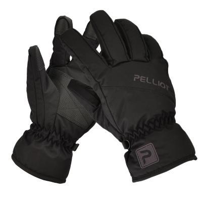 伯希和戶外滑雪手套男女冬季防風防水耐磨加厚保暖騎行防風防寒保暖加厚鎖溫男女通用登山棉手套