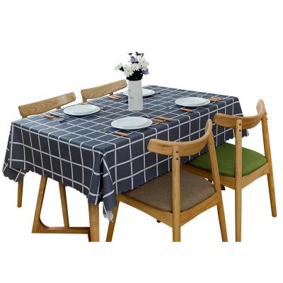 幸福派 布艺桌布防水防烫防油免洗北欧茶几餐桌布书桌ins学生塑料pvc桌垫