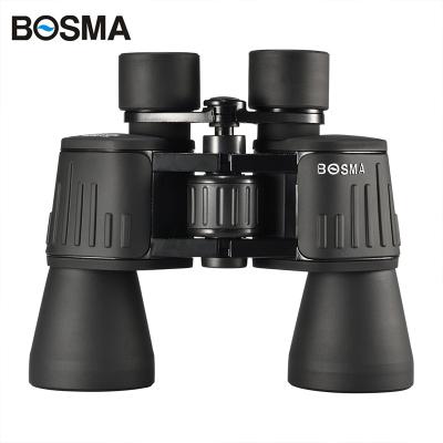 BOSMA博冠保羅10X50ZCY手持式雙筒普通望遠鏡高倍高清微光夜視固定倍率