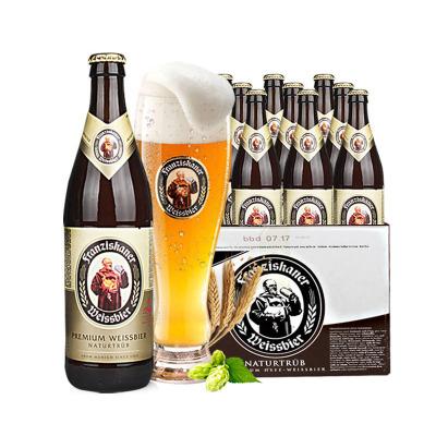 德国风味啤酒 范佳乐(原教士)小麦白啤酒450ml*20瓶送4瓶