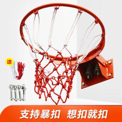 博森特 戶外標準籃球框 彈簧籃筐 室外壁掛式成人籃球架籃圈