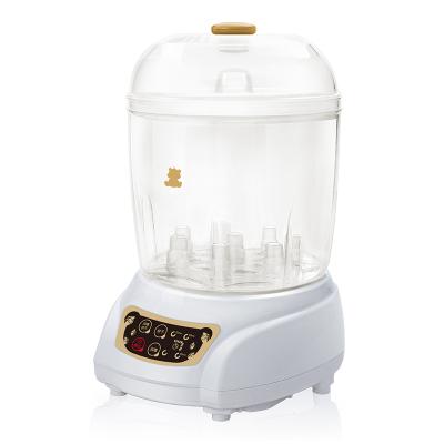 小白熊 寶寶奶瓶消毒器嬰兒奶瓶消毒烘干器大容量奶瓶蒸汽消毒鍋帶烘干HL-0681