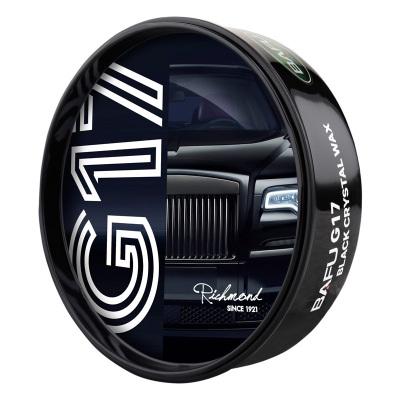 巴孚(BAFU)G17黑車專用車蠟汽車蠟保養護臘打蠟黑色車鍍膜去污上光防劃痕修復蠟180g