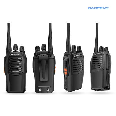【2台装】宝锋(BAOFENG)BF-888S实用版对讲机 宝峰无线微型对讲机 民用 迷你对讲手台专业对讲机 抗干扰黑色