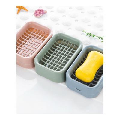 權夫人浴室雙層瀝水肥皂盒 衛生間手工皂架香皂盒皂盒皂托