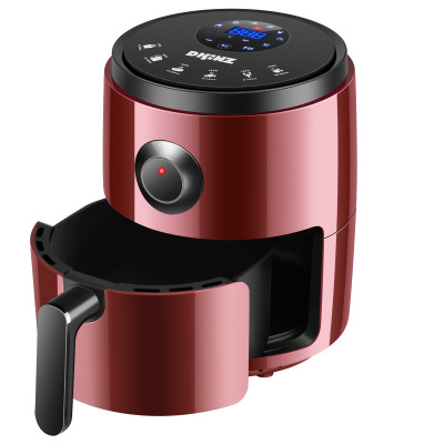 2020新品韓國DKINZ空氣炸鍋多功能無油電炸鍋家用薯條機液晶智能新款8062D-紅色
