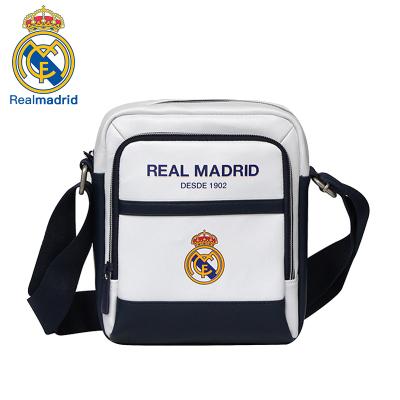 皇家馬德里Realmadrid官方正品時尚男女士多功能大容量手提運動戶外健身訓練商旅行電腦單肩小挎書包背包白色