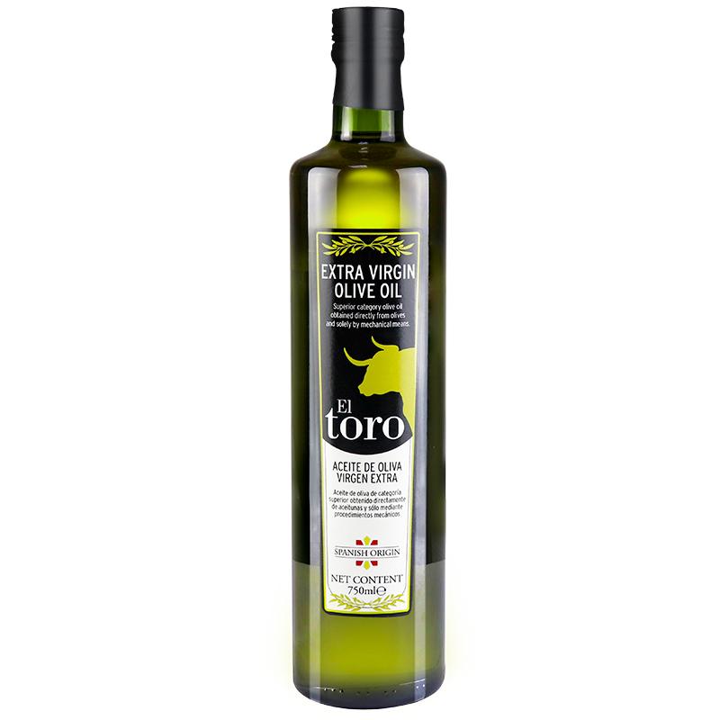 滔利ELTORO特级初榨橄榄油食用油西班牙原瓶进口750ML*2瓶
