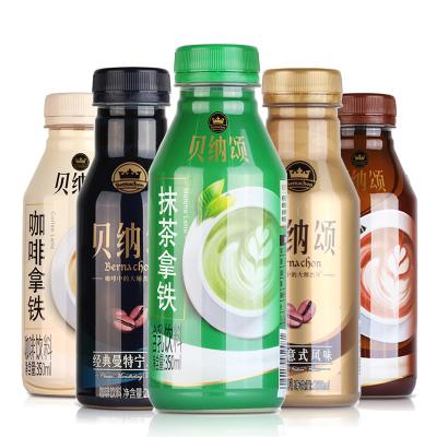 康师傅 贝纳颂咖啡饮料 咖啡拿铁 摩卡拿铁 曼特宁风味 抹茶拿铁 经典意式风味混合6瓶