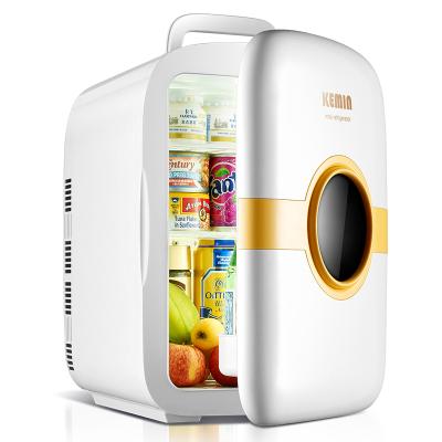 科敏K22迷你型小冰箱车载小型家用微型学生宿舍用寝室节能单人(单核机械版)
