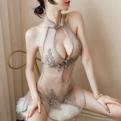情趣內衣女極度誘惑超騷高潮免脫開檔全透明激情性感睡衣小胸威珺