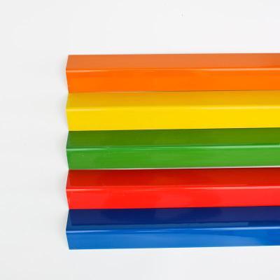裝修護角條裝修公司墻角保護條瓷磚防撞護角條PVC陽角條 紅色 3CM單根不印字單價1.2m
