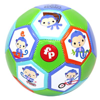费雪(Fisher Price)运动玩具 儿童足球幼儿园宝宝玩具球13cm 猴子款 F0911 H1