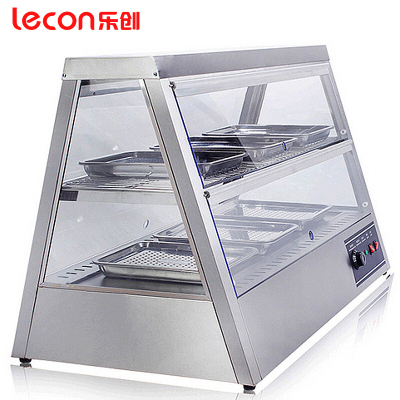 樂創(lecon)1.1米保溫柜 食品商用臺式炒栗子保溫電熱展示柜 熟食柜 面包漢堡披薩炸雞蛋撻柜蛋糕柜