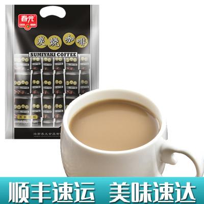 炭烧咖啡570g袋装 春光 冲调饮品速溶咖啡粉三合一食品特浓传统经典香浓正宗海南特产