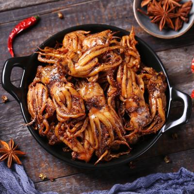 鐵板麻辣魷魚須 麻辣八爪魚零食魷魚絲仔足香辣即食小吃 麻辣500g