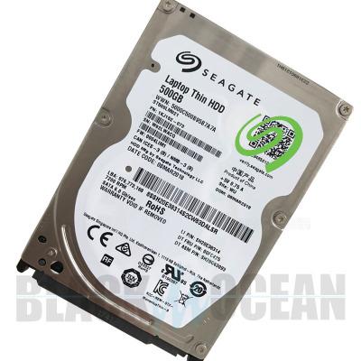Seagate/希捷 500GB 笔记本电脑机械硬盘7200转32M 2.5寸ST500LM021 7mm SATA3拆机版 100×70×7(mm)