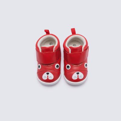 巴拉巴拉女童皮鞋 加绒鞋2019新款春秋宝宝儿童鞋子女婴儿羊皮鞋