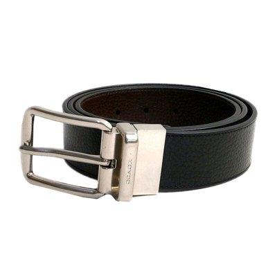 COACH 蔻驰 欧美时尚男款时尚皮质针扣腰带皮带皮具套装 男