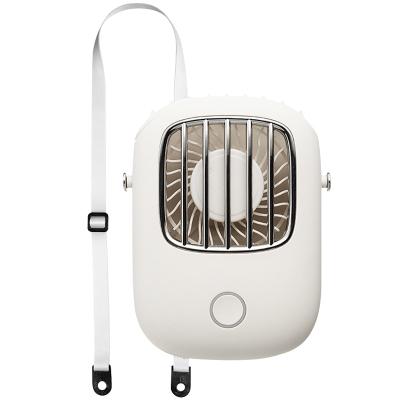 REMAX 如意系列掛脖風扇 F36 便攜式USB迷你充電手持學生懶人掛脖子小電風扇 復古多功能掛脖靜音電扇 復古白