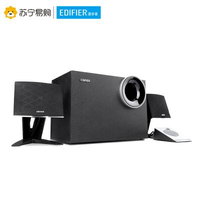 Edifier/漫步者 R208PF 電腦有源音響2.1聲道低音炮重低音多媒體臺式音箱黑色