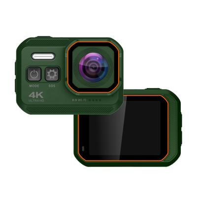 KOMERY-Q7智能4K戶外攝像機高清運動數碼相機旅游騎行防水防塵WIFI連接記錄儀潛水攝影機
