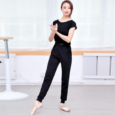 洛萊娜(ROBE DE REINE) 春夏秋形體舞蹈服練功服女套裝現代舞基訓服健美體服學生