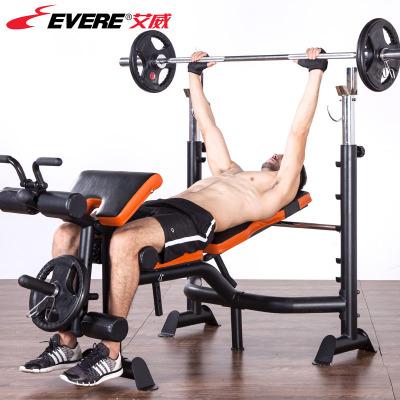 艾威舉重床健身器材GM4380家用多功能商用健身房杠鈴床深蹲架專業臥推架