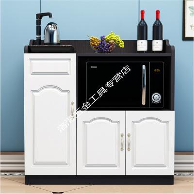 微波炉柜简约现代烤箱柜餐边柜餐厅储物柜茶水柜客厅收纳碗厨柜子