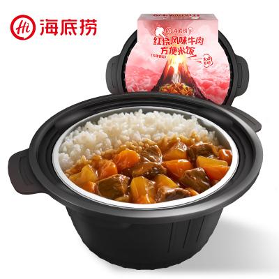 海底捞红烧风味牛肉方便米饭320g