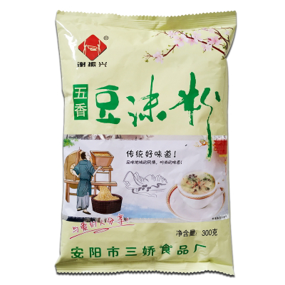 【中华特色】安阳馆 谢振兴 方便粥 五香豆沫粉 方便速食 营养餐300g*4/袋装