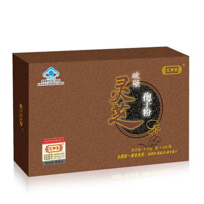 芝神堂 破壁灵芝孢子粉 100袋 高三萜 上海老品牌