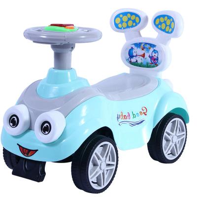 儿童滑行车溜溜车扭扭车健身车宝宝1-3岁智扣小孩学步车带音乐婴儿助步车